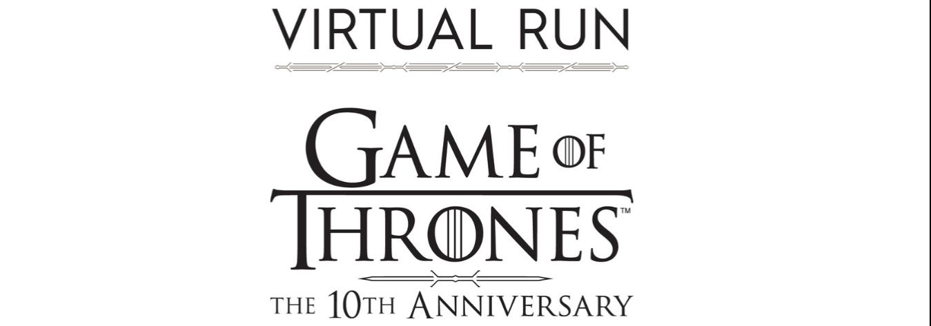 Game of Thrones Virtual Run