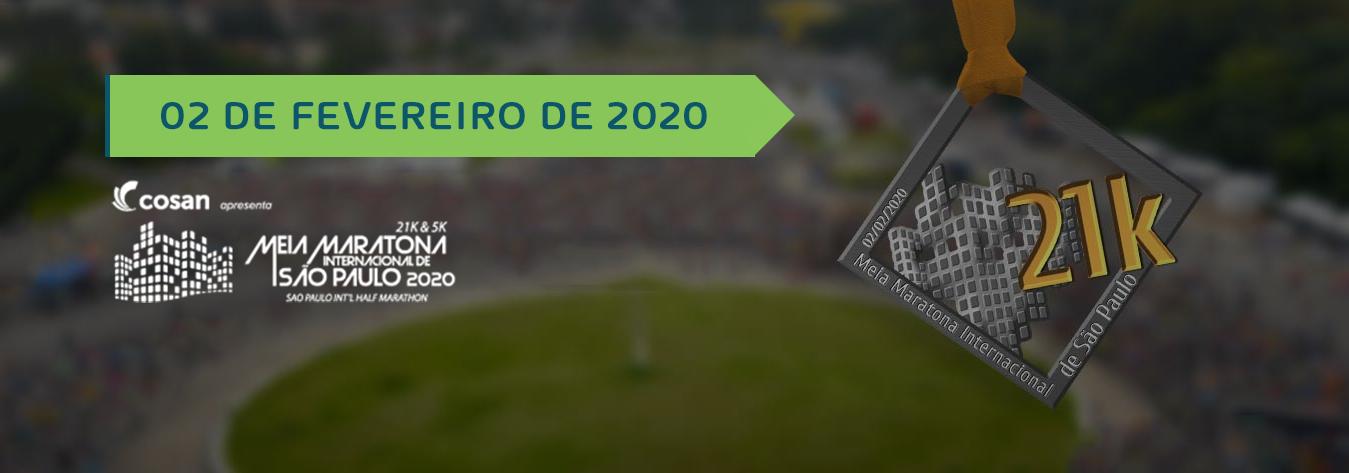 14 Meia Maratona Internacional  de Sao Paulo 2020