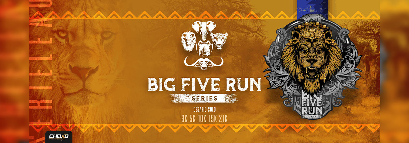 Corrida Big five Series Virtual Etapa Leao