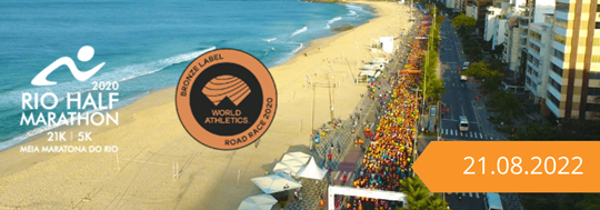 24 Meia Maratona Internacional do RJ 2020